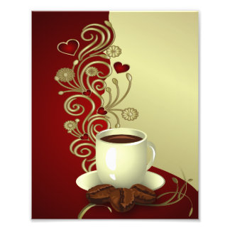 Modern Coffee Lover Photo Print