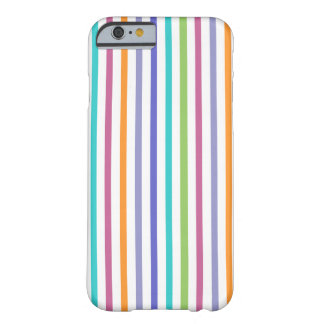 Modern Color Striped iPhone 6 case Barely There iPhone 6 Case