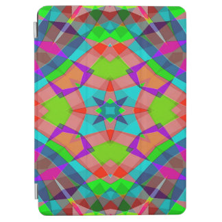 Modern Colorful Abstract Art Pattern iPad Air Cover