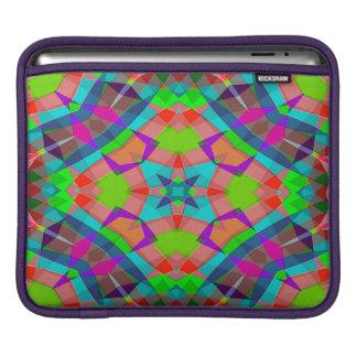 Modern Colorful Abstract Art Pattern iPad Sleeve