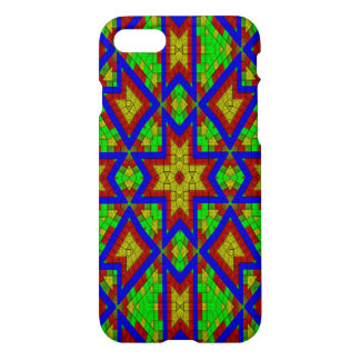 Modern colorful abstract cool pattern iPhone 7 case