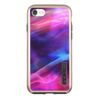 Modern Colorful Abstract Fractal Incipio DualPro Shine iPhone 8/7 Case