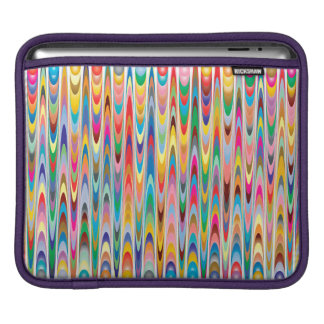 Modern Colorful Abstract Pattern iPad Sleeve