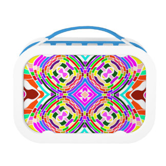 Modern Colorful abstract Pattern Lunch Box