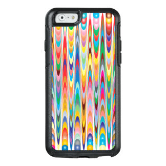 Modern Colorful Abstract Pattern OtterBox iPhone 6/6s Case