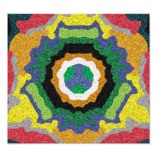 Modern colorful abstract pattern photo