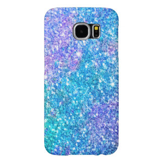 Modern Colorful Blend Glitter Print Samsung Galaxy S6 Cases