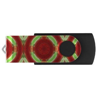 Modern colorful circle swivel USB 3.0 flash drive