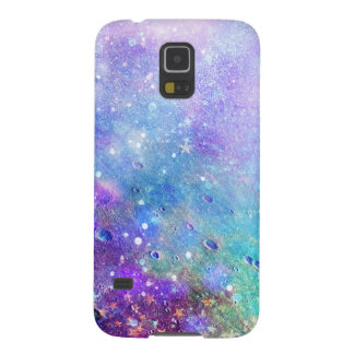 Modern Colorful Deep Space Background Galaxy S5 Cover