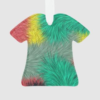 Modern colorful furry art