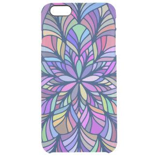Modern Colorful Geometric Mandala GR7 Clear iPhone 6 Plus Case