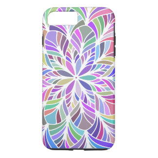 Modern Colorful Geometric Mandala iPhone 8 Plus/7 Plus Case