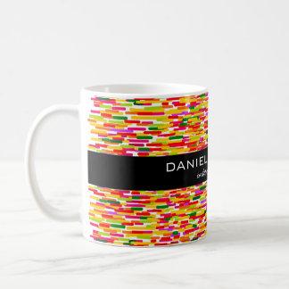 Modern Colorful Interior Designer Branding Basic White Mug