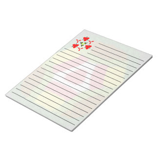 Modern colorful modern pattern notepad