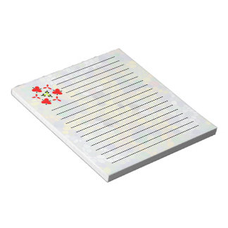 Modern colorful mosaic notepad