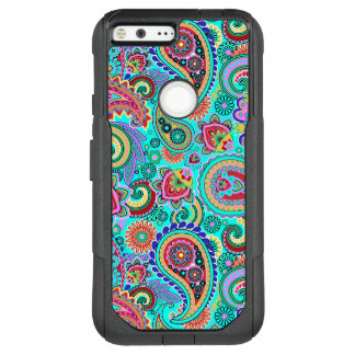 Modern Colorful Paisley Seamless Pattern OtterBox Commuter Google Pixel XL Case