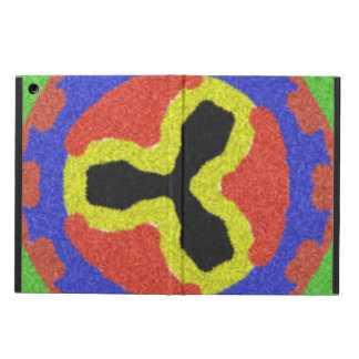 Modern colorful pattern case for iPad air