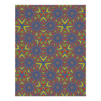 Modern colorful pattern personalized flyer