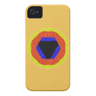 Modern colorful pattern iPhone 4 case