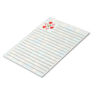 modern colorful pattern notepad