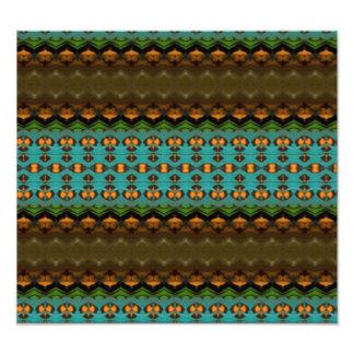 Modern colorful pattern photograph