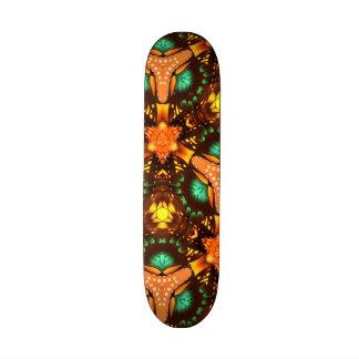 Modern colorful unique pattern skate decks