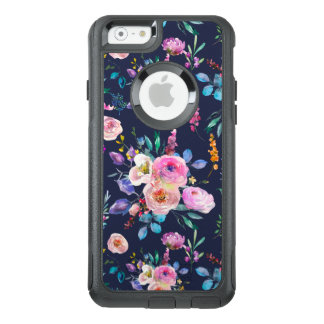 Modern Colorful Watercolors Flowers Pattern OtterBox iPhone 6/6s Case