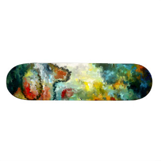 Modern composition 04 by rafi talby skate decks