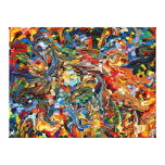 modern composition 29 by rafi talby gallery wrapped canvas