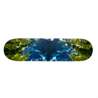Modern composition 35 by rafi talby skateboard