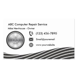 Modern Computer Technology Pack Of Standard Business Cards