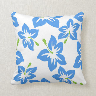 Modern Contemporary Hibiscus Pattern Cushion
