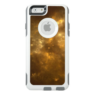 Modern Cool Beautiful Gold Nebula, Stars & Space - OtterBox iPhone 6/6s Case