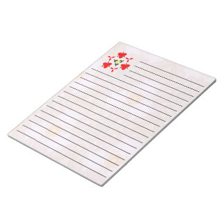 Modern cool unique pattern notepad
