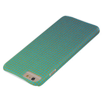 Modern Cool Unique Square Pattern Barely There iPhone 6 Plus Case