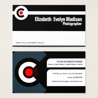 modern creative 001 business card