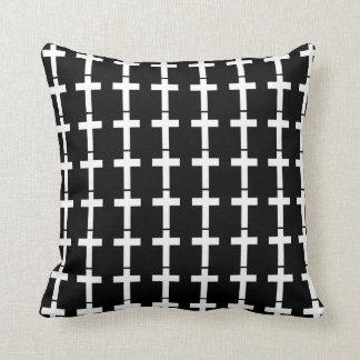 Modern Cross Pattern Pillow