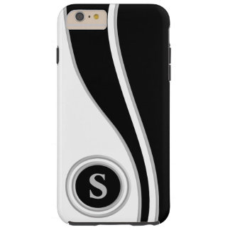 Modern Curves Classic Monogrammed Tough iPhone 6 Plus Case