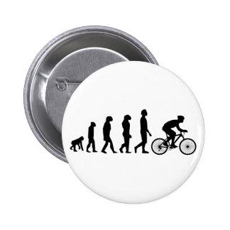 Modern Cycling Human Evolution Scheme 6 Cm Round Badge