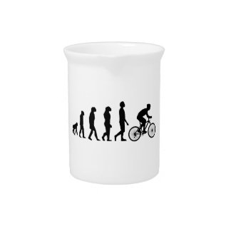 Modern Cycling Human Evolution Scheme Pitcher