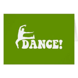 modern dance cards