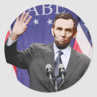 Modern Day Abraham Lincoln Stickers