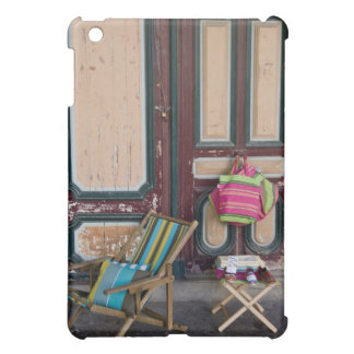 Modern day deck chairs and beach bags for sale iPad mini case