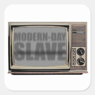 modern-day-slave square sticker