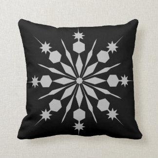 Modern Decorative Crystal Snowflake Cushion