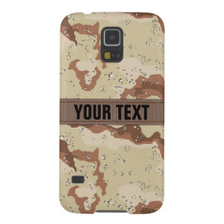 Modern Desert Camo Personalized Case For Galaxy S5