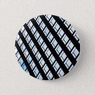 Modern design 6 cm round badge