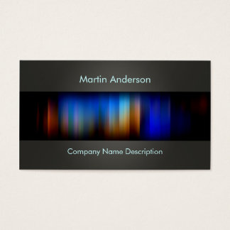 modern design business card