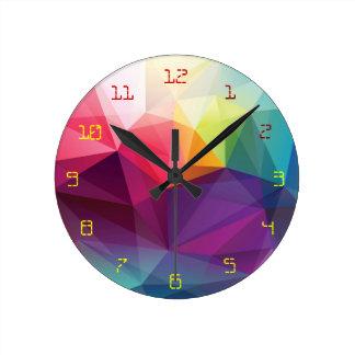 Modern Design Round Clock