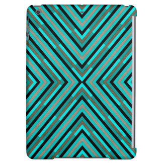Modern Diagonal Checkered Shades of Green Pattern